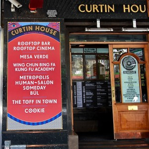 Curtin House - front