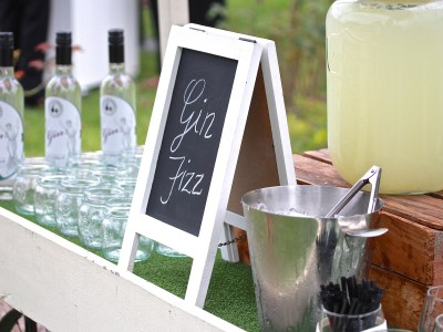 Gin Fizz Station | MFWF 2015 | Melbourne Cocktails