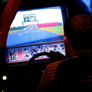 Atari Hard Drivin | Bartronica | Melbourne Cocktails