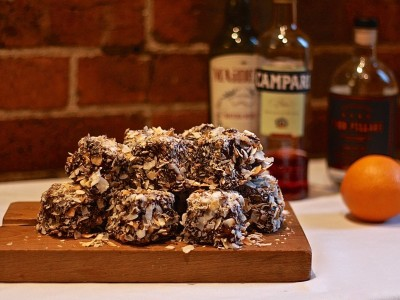 Negroni Lamingtons | Negroni Week 2015 | Melbourne Cocktails