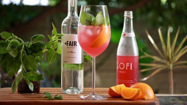Orange Basil Sofi Spritz | Cocktail Recipe | Melbourne Cocktails