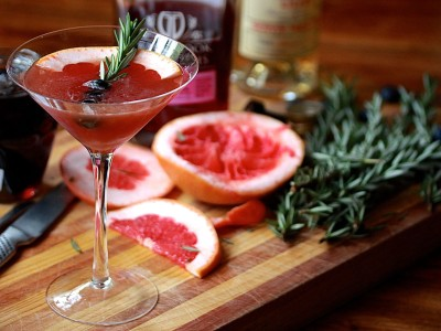 Plum Gin Martini | Recipes | Melbourne Cocktails