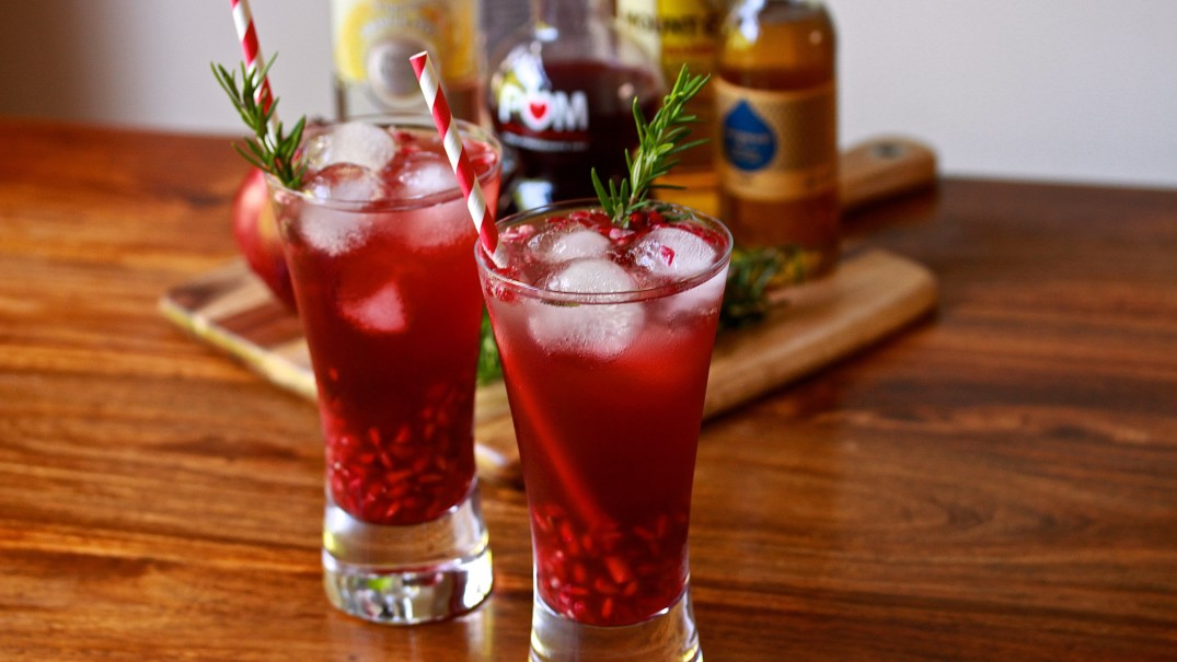Peace & Pomegranate Cocktail Recipe | Melbourne Cocktails