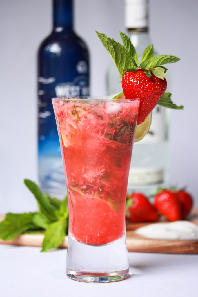Strawberry Mojito Cocktail | Melbourne Cocktails