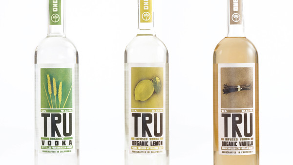 TRU Organic Vodka Range | Melbourne Cocktails